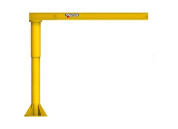 1 8 Ton Fl Series Foundationless Floor Mounted Jib Crane