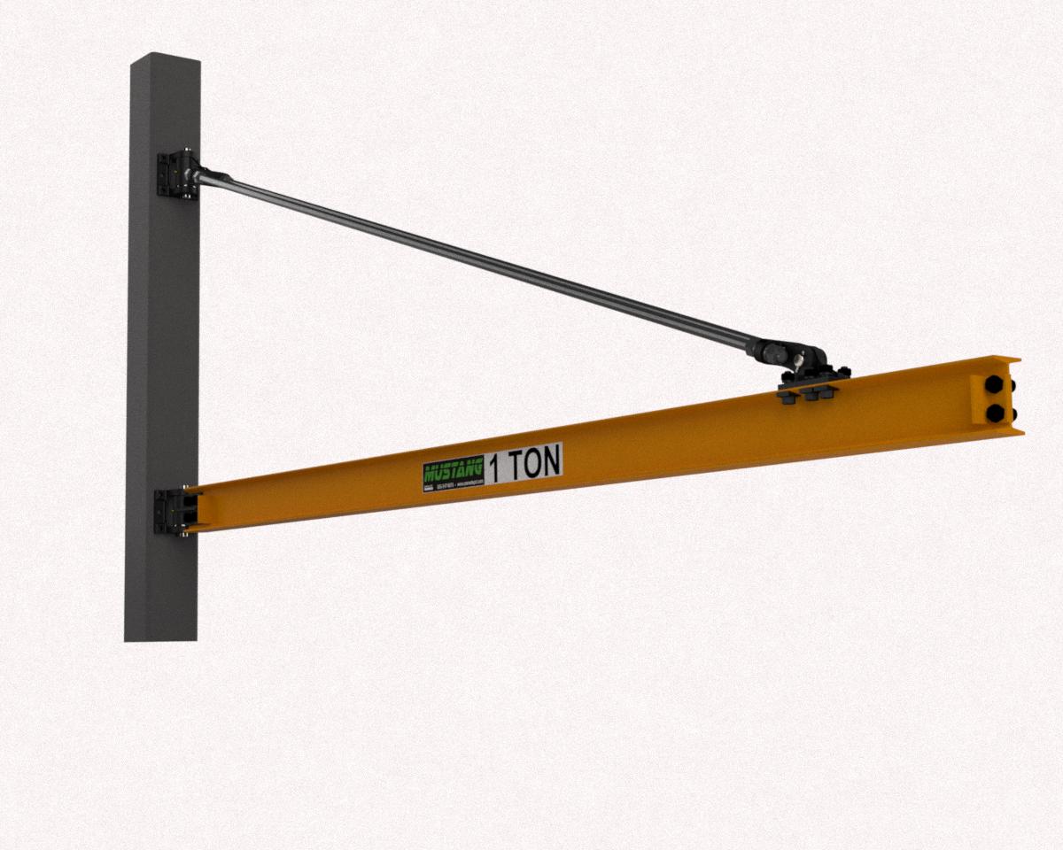 Motorized Wall Mounted Jib Crane : Jib cranes